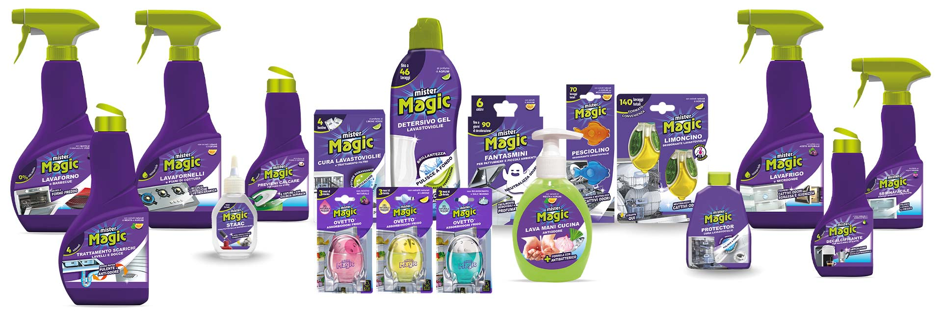 Mister Magic®: the business product line.