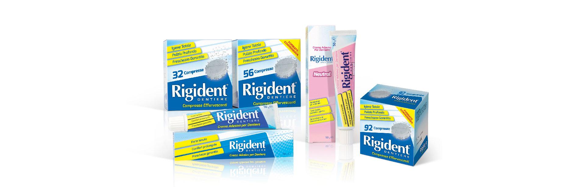 Rigident®: la linea dei prodotti.