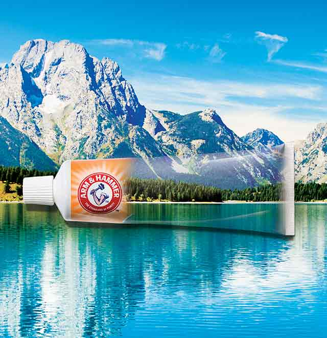Arm & Hammer: con due elementi unici: il Baking Soda e la Tecnologia Liquid Calcium.