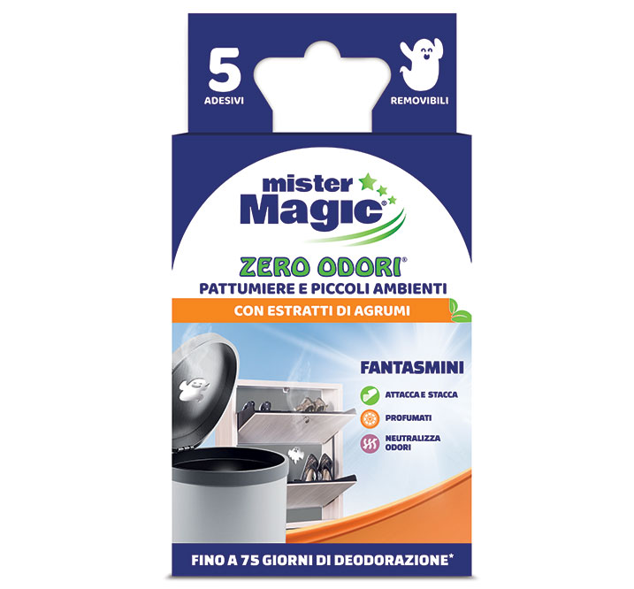 Mister Magic® Zero Odori per pattumiere.