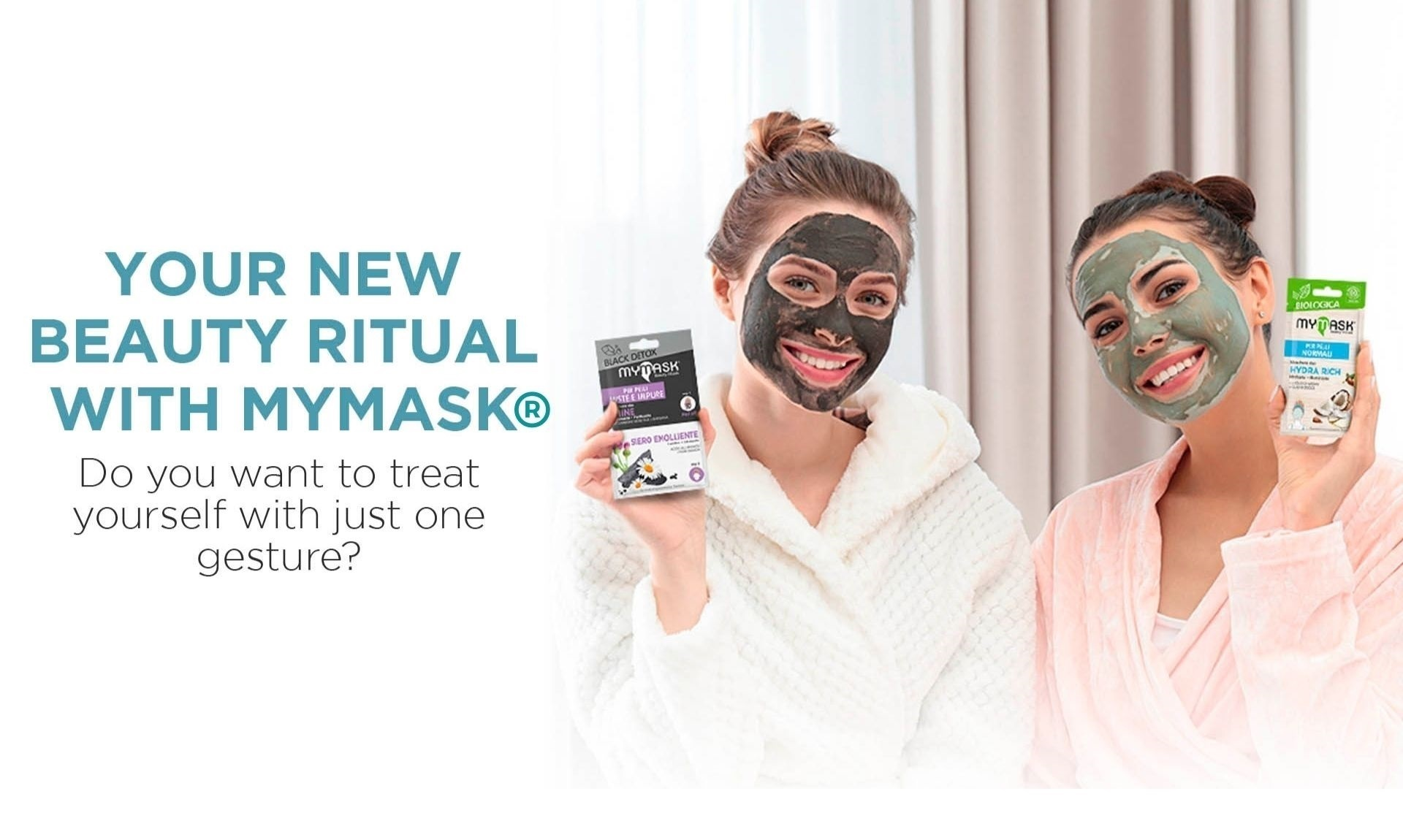 MY MASK® specifically designed for the daily beauty care.