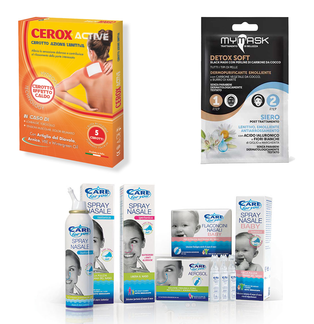 Tavola SpA ha acquisito i brand del beuty care: Cerox, Care for you e My Mask.
