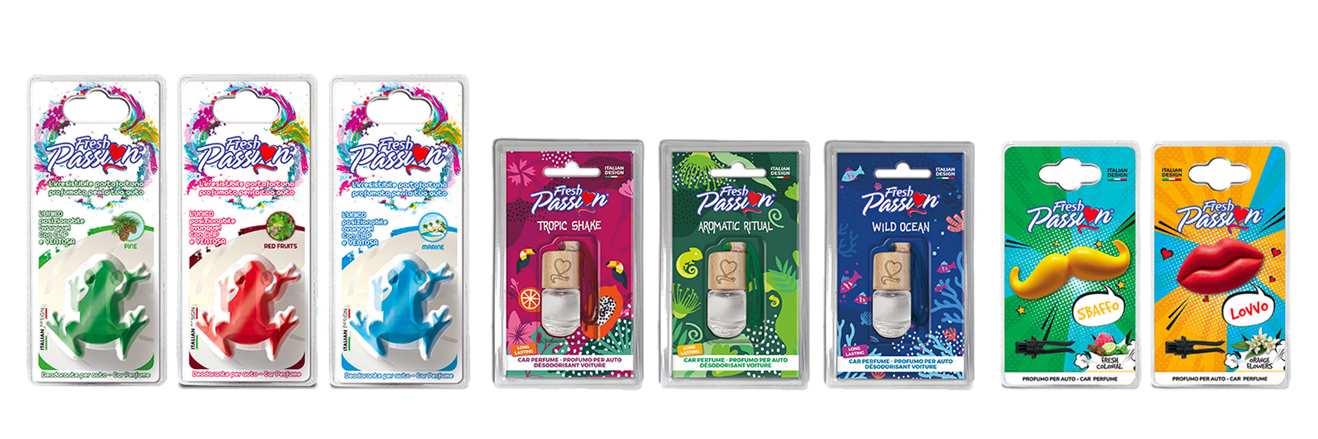 Fresh Passion: la linea dei prodotti.